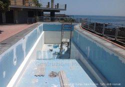 Seconda Fase: Ripristino tubazioni piscina