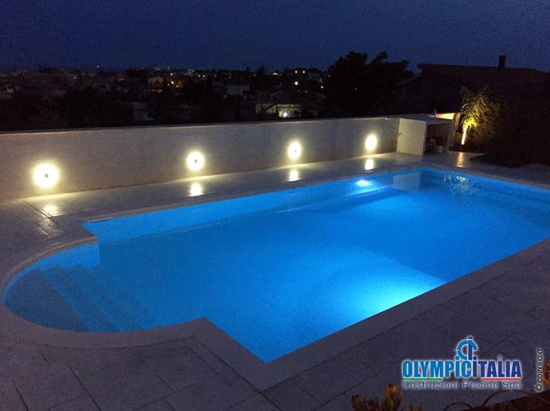 Costruzione piscina Vittoria Ragusa Casa vacanza